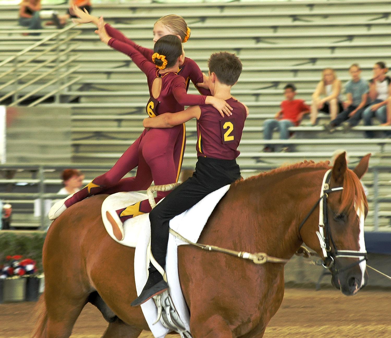 Costumi per volteggio a cavallo e reining personalizzati for Profumi sport